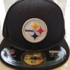 Pittsburgh Steelers fitted youth New Era hat